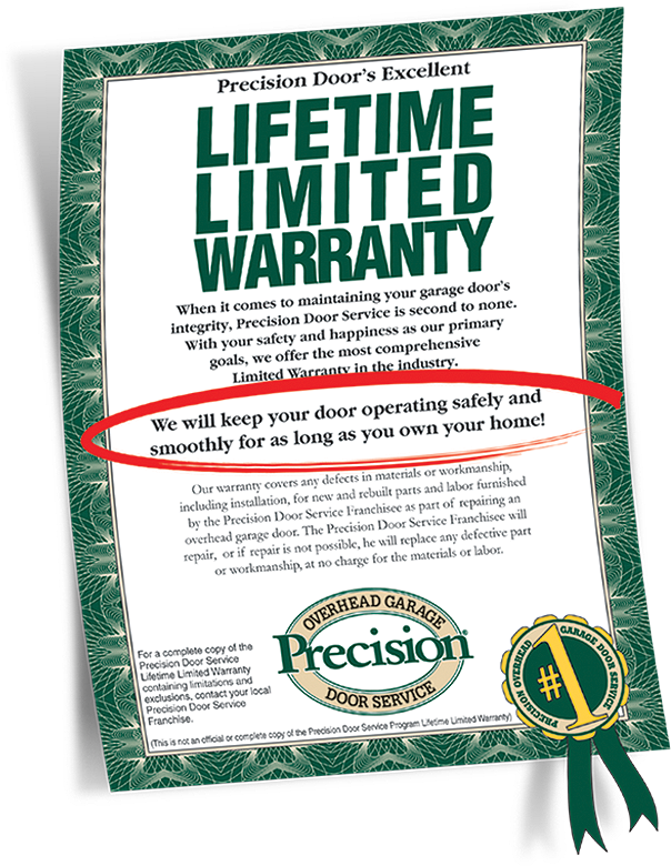 Charmant Our Famous Garage Door Warranty